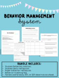 Behavioral Management- Goals and Reflections