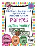 Behavior Management System - Classroom Economy -Money - editable