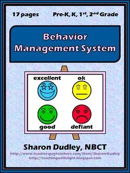 Behavior Management System - Color Coded