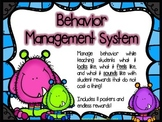 Behavior Management System - My Little Monsters