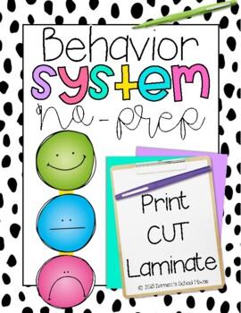 Behavior Management System {No Prep Plan}