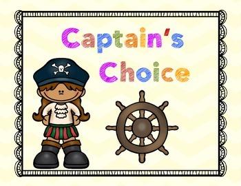 Behavior Management System {Pirates}