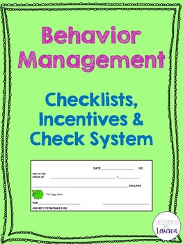 Behavior Management System - checks