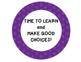 Behavior Management System for Elementary