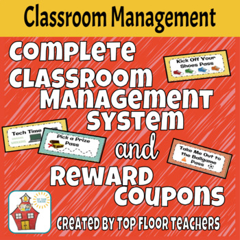 Behavior Management System with Classroom Reward Coupons