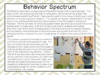 Behavior Management & Systems GUIDE
