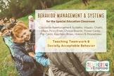 BEHAVIOR MANAGEMENT SYSTEMS * Classwide Positive Reinforce