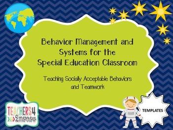 Behavior Management & Systems TEMPLATES