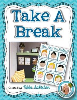 Behavior Management - Take A Break SITE LICENSE - 20 Classrooms