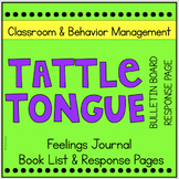 Behavior Management Tattle Tongue Bulletin Board and more