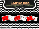 Behavior Management: The 3 Strikes and Take a Break Board