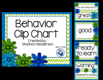 Behavior Management: The Clipchart
