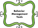 Behavior Management Tools