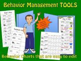 Behavior Management Tools, picture behavior chart  for Pre-K---1st and Sp. Ed.