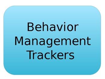 Behavior Management Trackers