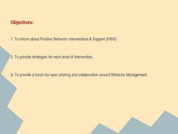 Behavior Management Training