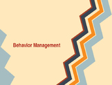 Behavior Management Training
