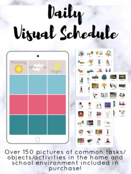 /& Outings School 60 Picture Cards Day//Night Schedule Board Autism Visual Home