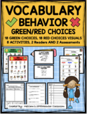 Behavior Management Vocabulary Pack
