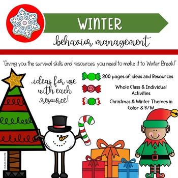 Behavior Management Winter-Themed Bundle