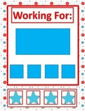 Behavior Management-Working For Task- Autism- Visual Support