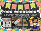 Behavior Management and Interventions Tool Kit K-3