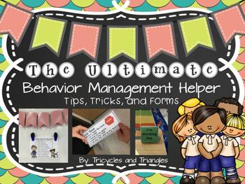 Behavior Management and Interventions Tool Kit K-3