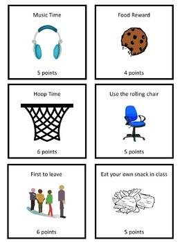 Behavior System - Great Visual Plan for Students with Special Needs
