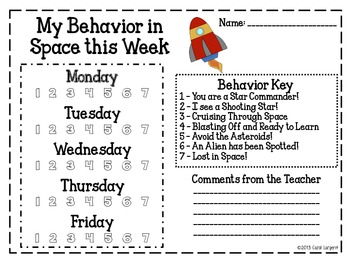Behavior Management in Space