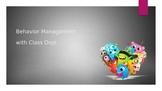 Behavior Management with Class Dojo Presentation *Editable*