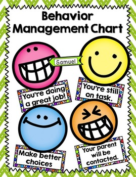Behavior Managment Chart