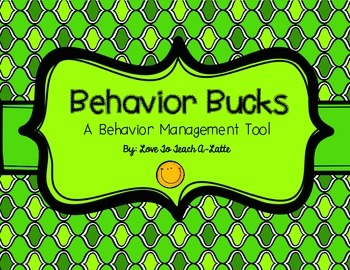 Behavior Managment Using Money