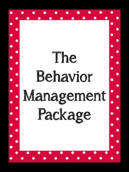 Behavior Mangament Package
