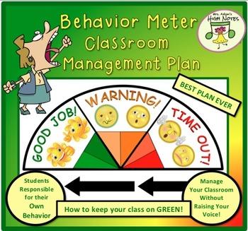 Behavior Meter & Classroom Management Plan