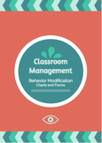 Behavior Modification & Classroom Management Charts and Forms Package