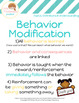 Behavior Modification Model