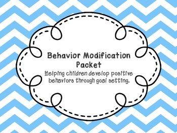Behavior Modification Packet