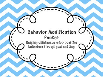 Behavior Modification Packet