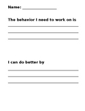 Behavior Modification Pages