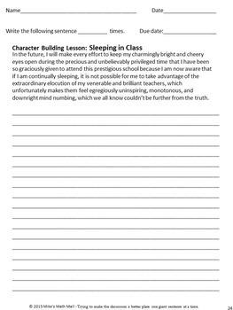 Behavior Modification Program Made Easy - Grades 7, 8, and 9
