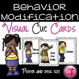 Behavior Modification Visual Cue Cards