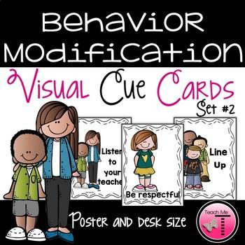Behavior Modification Visual Cue Cards Set 2