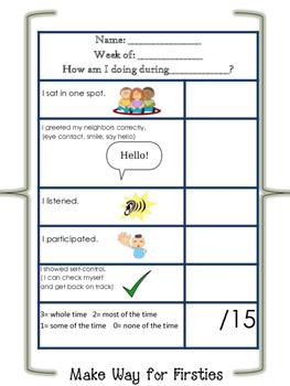 Behavior Monitoring Checklist