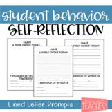 Behavior Parent Letter