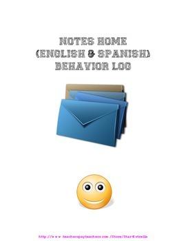 Behavior Note Book
