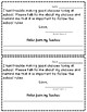 Behavior Note (From Student's to their Parent)