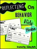 Behavior Note Home