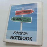 Behavior Notebook for Classroom Management