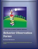 Behavior Observation/ Communication Forms