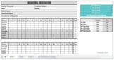 Behavior Observation of Students for Time on Task (BOSS) Google Sheet